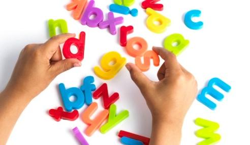 Dyslexia, conceptual image.
